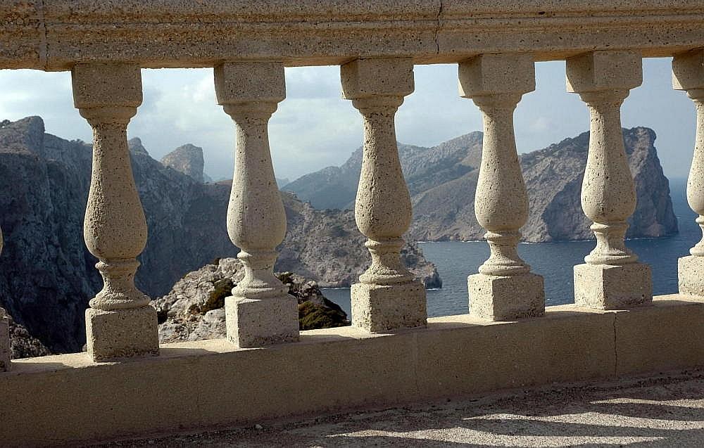 Blick vom Leuchtturm Cap de Formentor