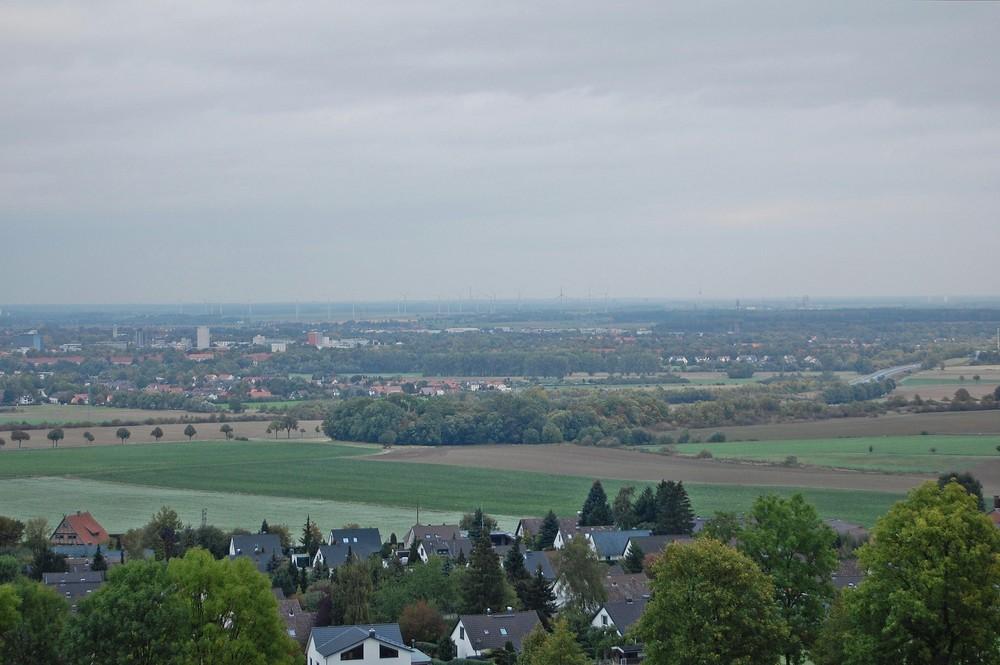 Blick vom Lichtenberger Aussichtspunkt