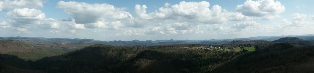 Blick vom Luitpoldturm