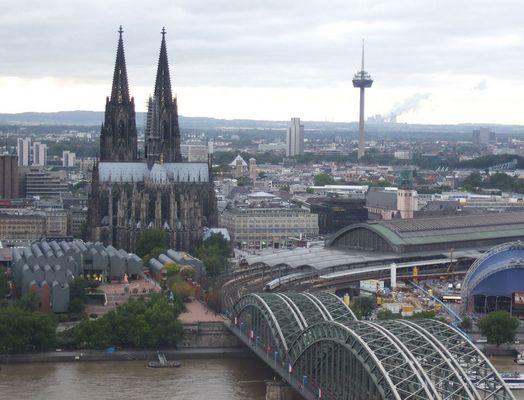 Blick vom LVR-Turm...