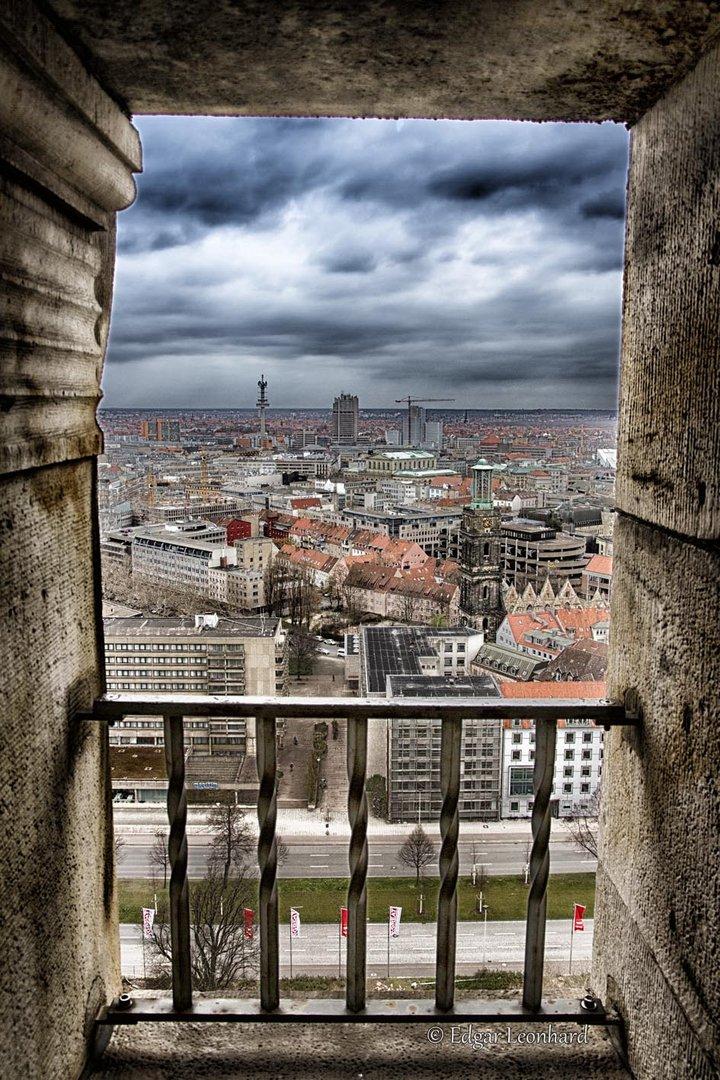 Blick vom neuen Rathaus Hannover