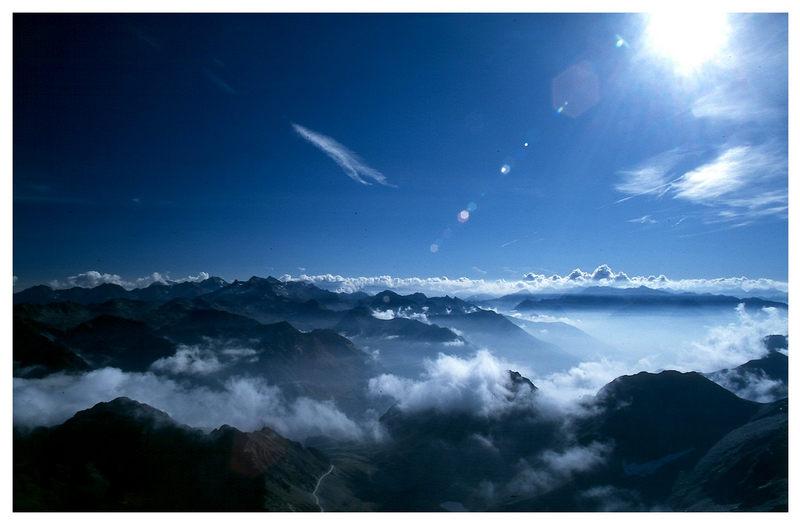 Blick vom Pic du Midi de Bigorre