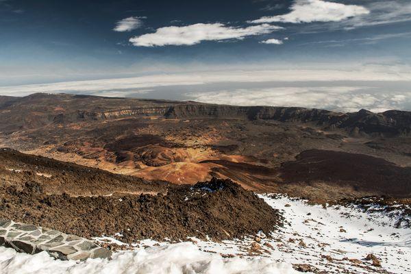 Blick vom Pico del Teide