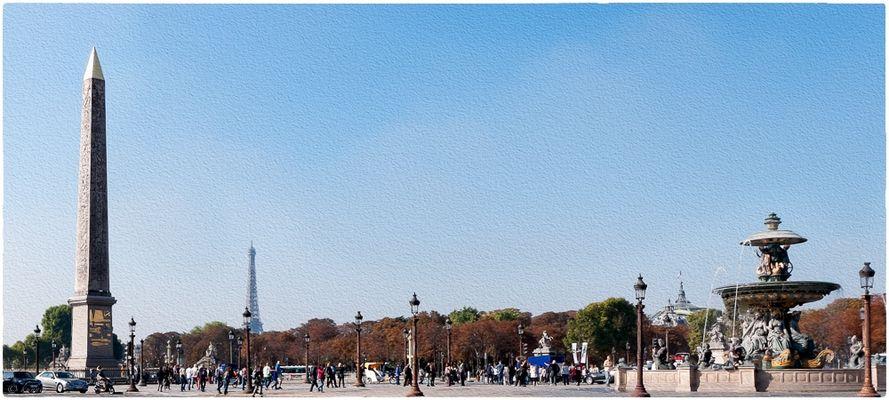 Blick vom Pl.de la Concorde