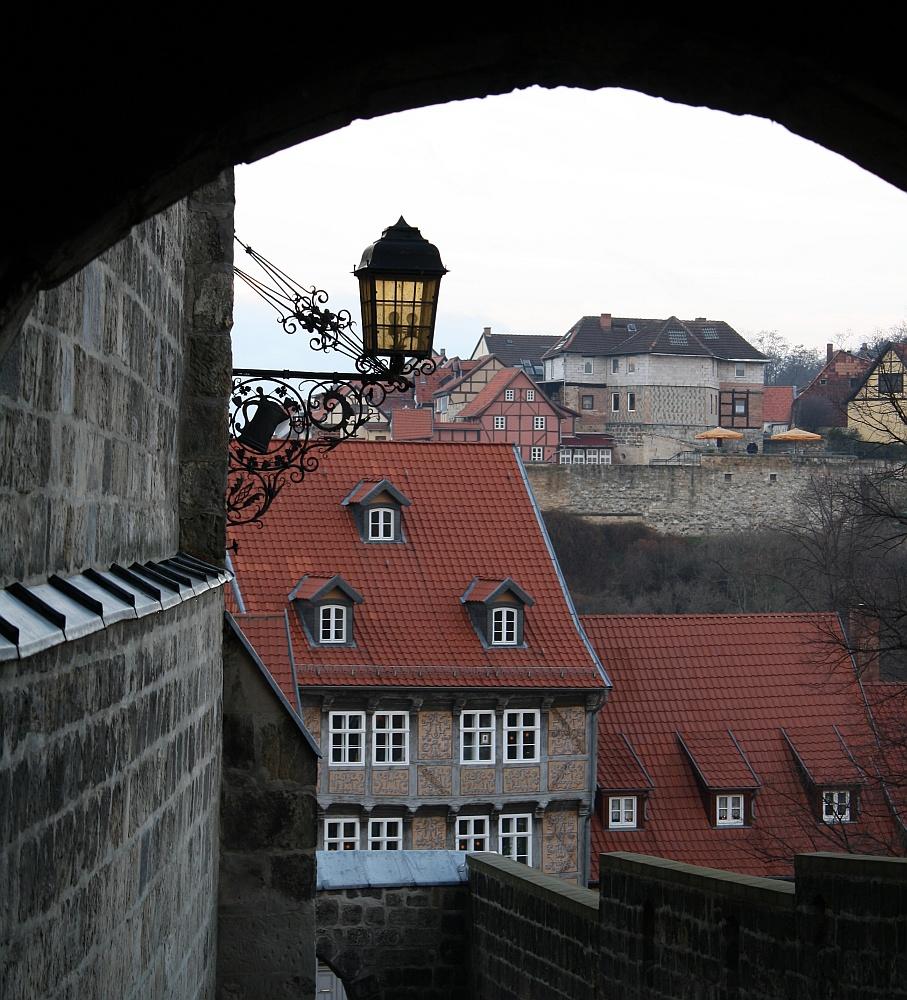 Blick vom Quedlinburger Schlossberg