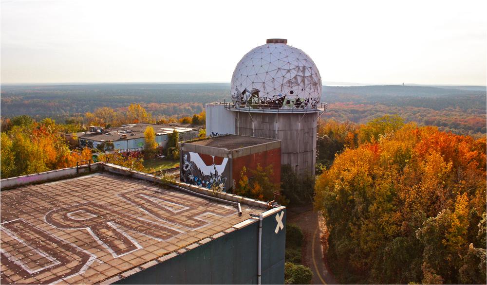 Blick vom Radarturm  ( 1 )