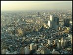 Blick vom Rathaus in Shinjuku