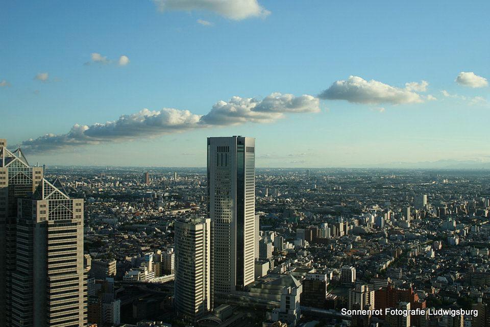 Blick vom Rathaus Tokyo