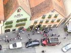 Blick vom Rathausturm in Rothenburg ob der Tauber