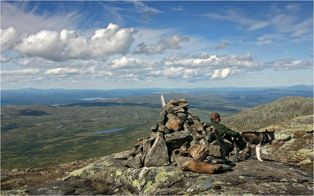 Blick vom Åreskuta