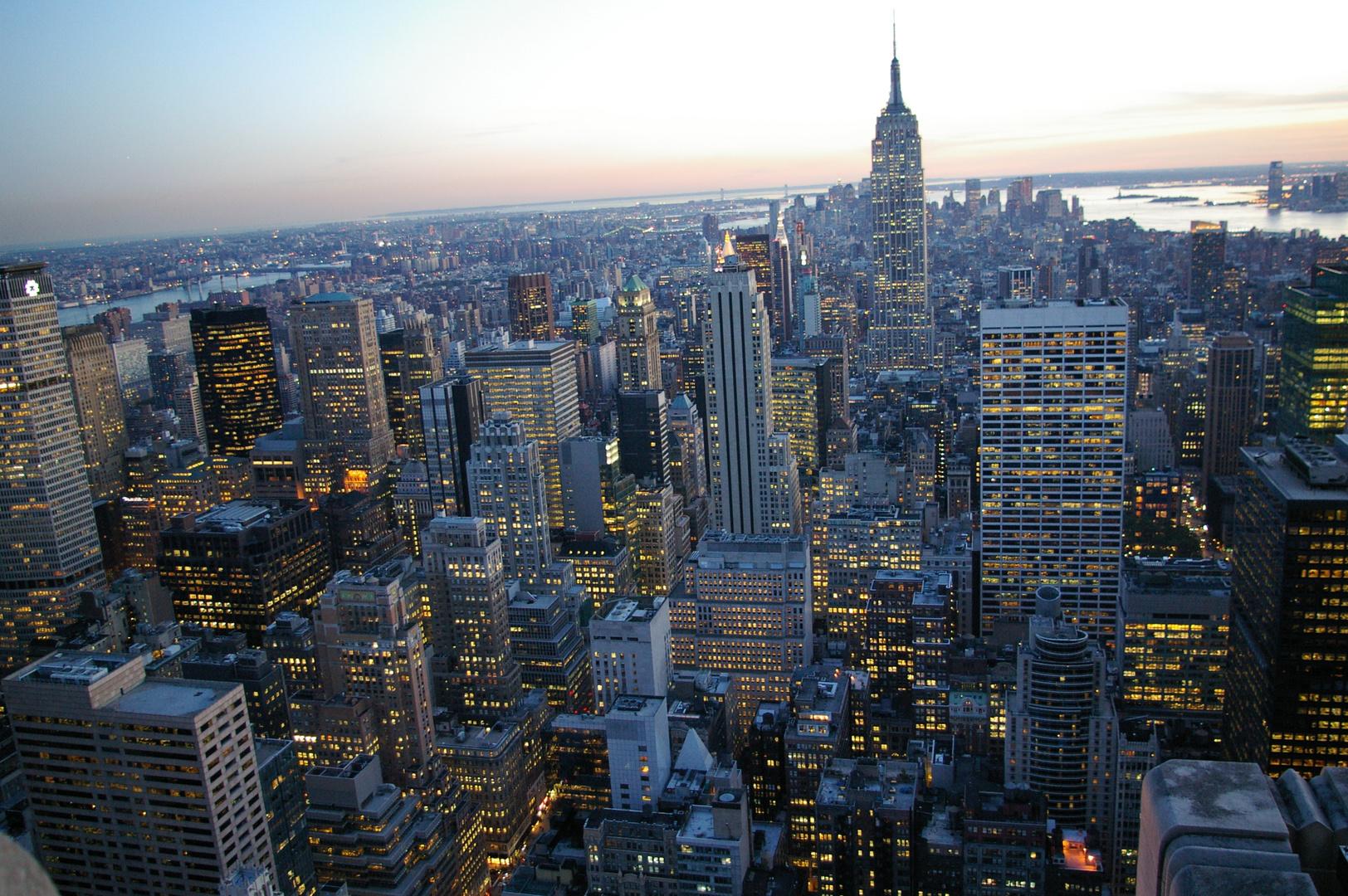 Blick vom Rockefeller Center 2008