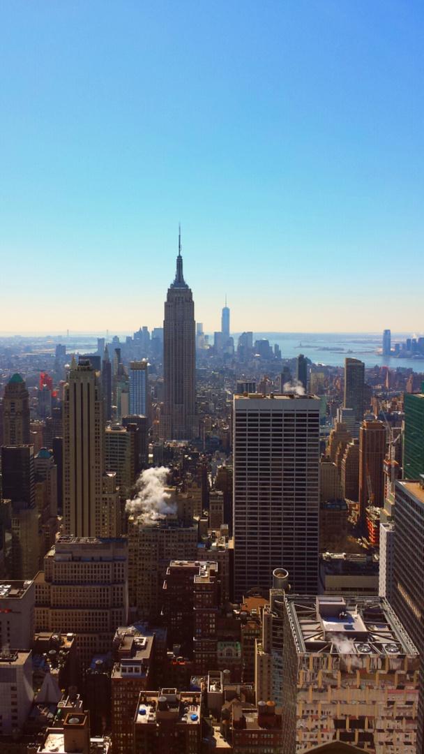 Blick vom Rockefeller-Center