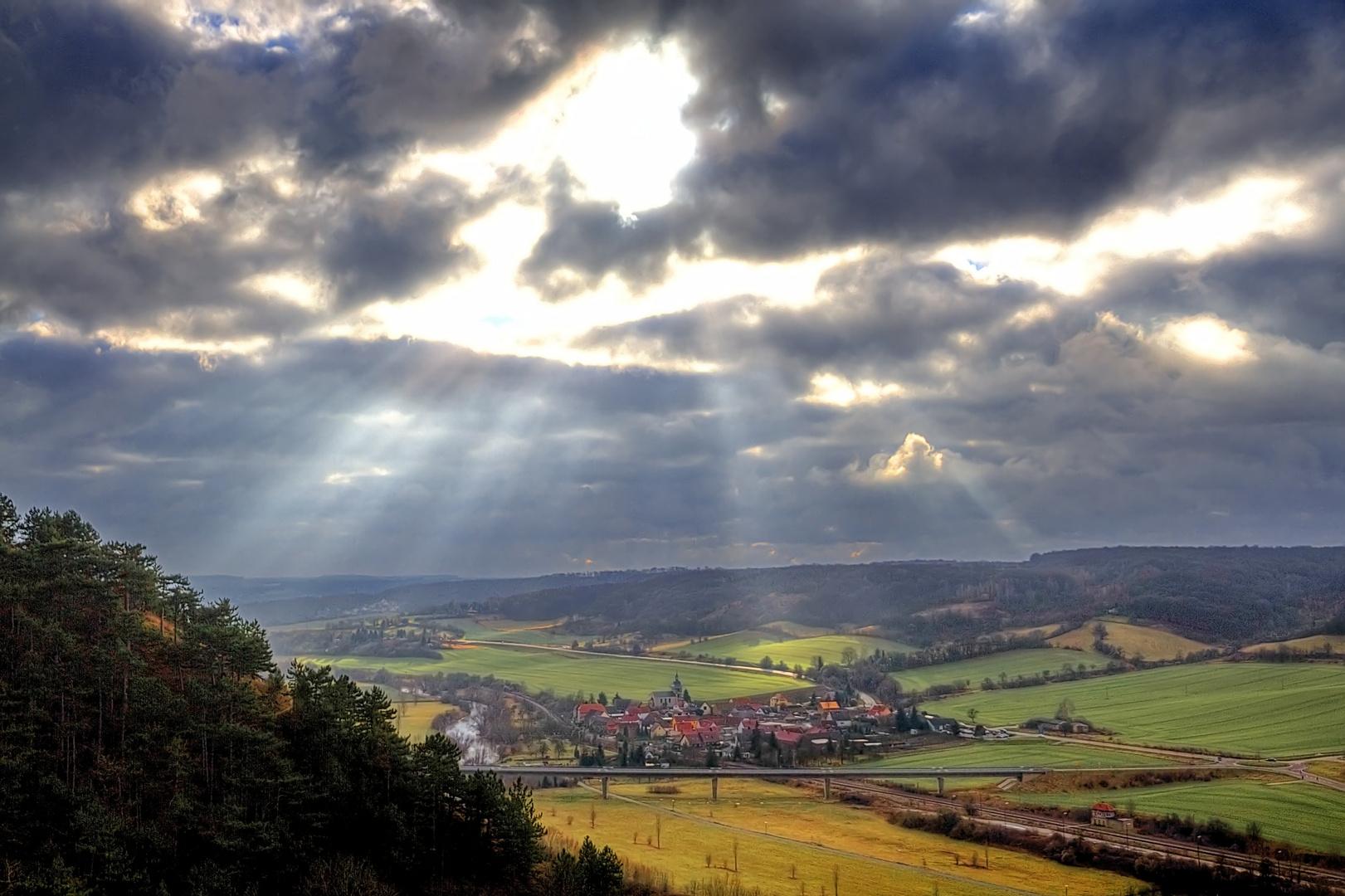 Blick vom Schloss Neuenburg 001