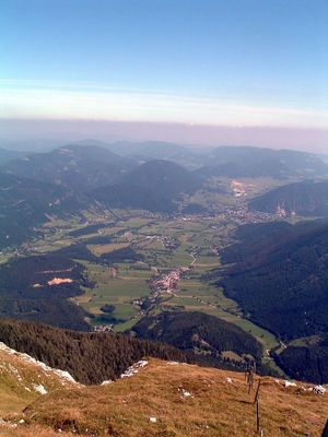 Blick vom Schneeberg /Östereich