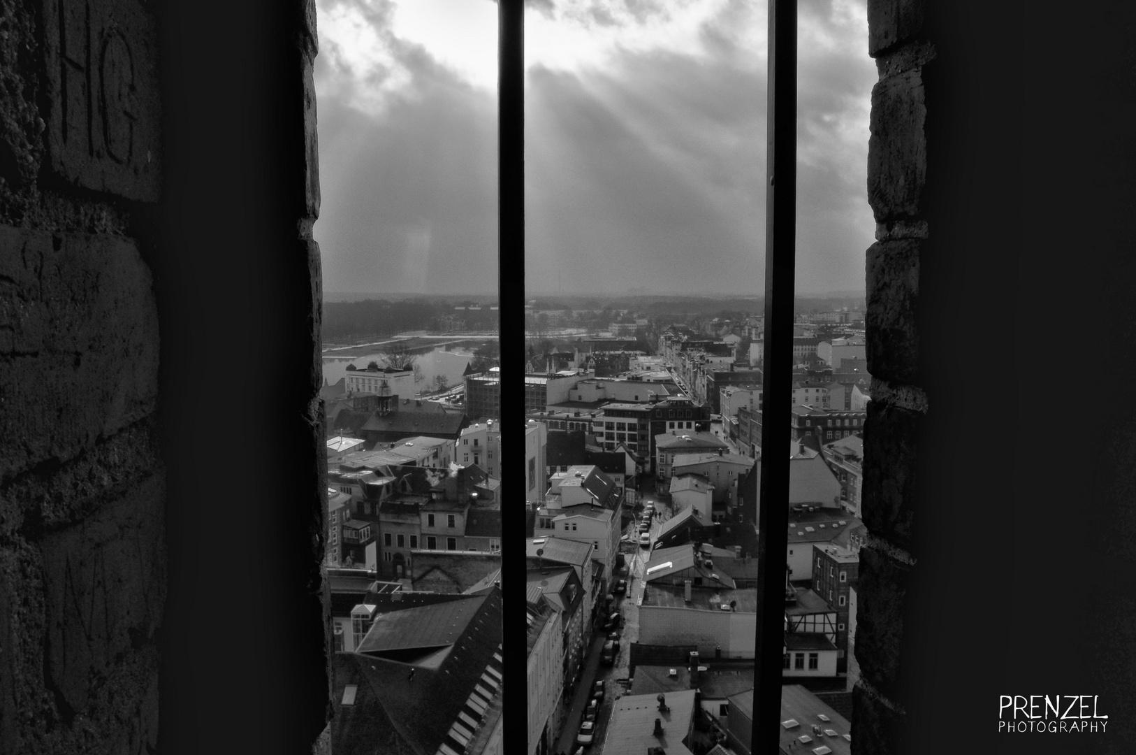 Blick vom Schweriner Dom