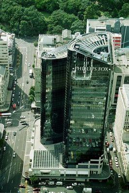 Blick vom Skytower