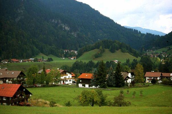 Blick vom Söllereck auf Kornau (Oberstdorf)