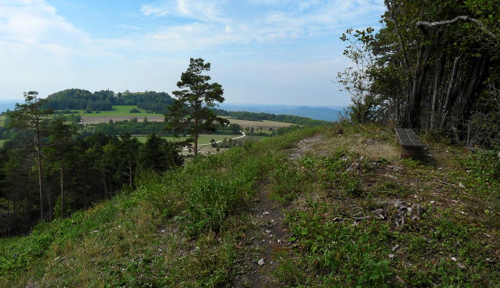 Blick vom Spitzberg zum Staffelberg