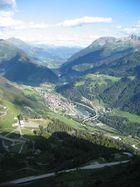 Blick vom St. Gotthard Pass