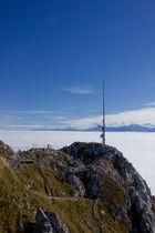 Blick vom Stockhorn aufs Nebelmeer