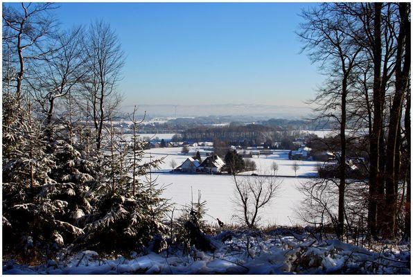 Blick vom Teutoburgerwald