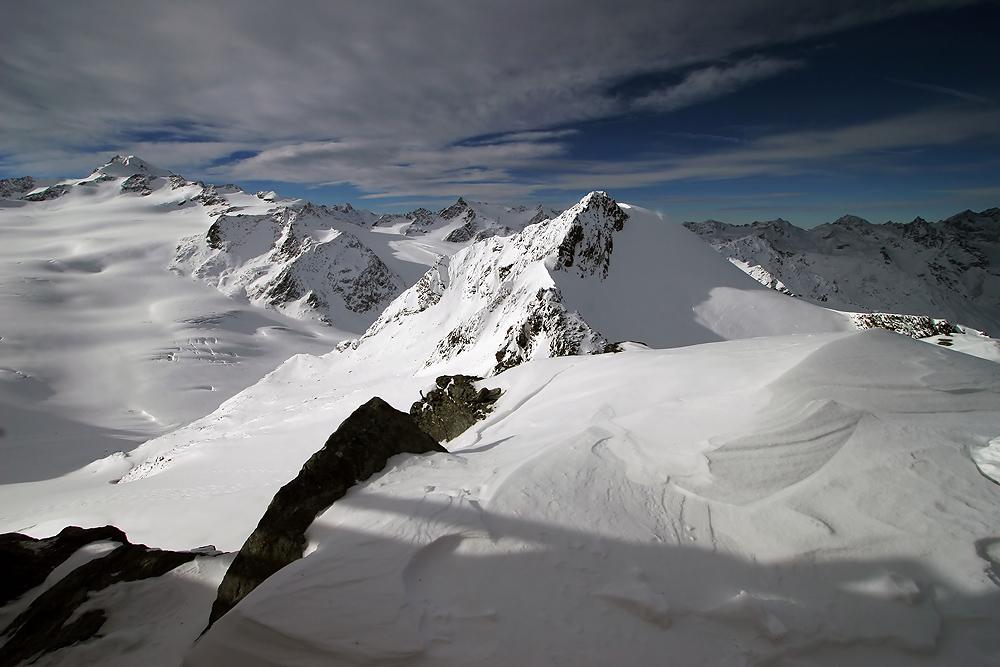 Blick vom Tiefenbachkogl