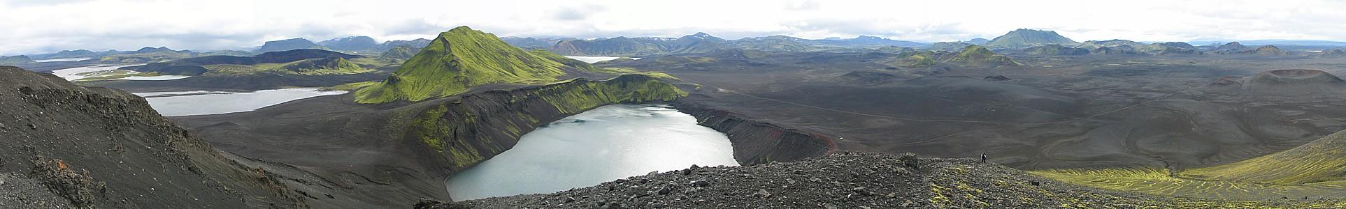 Blick vom Tjörvafell