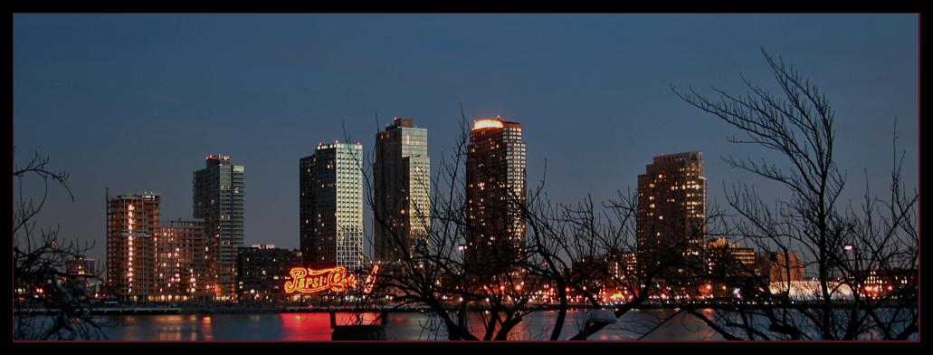Blick vom Uno Gebäude auf East River (New York)