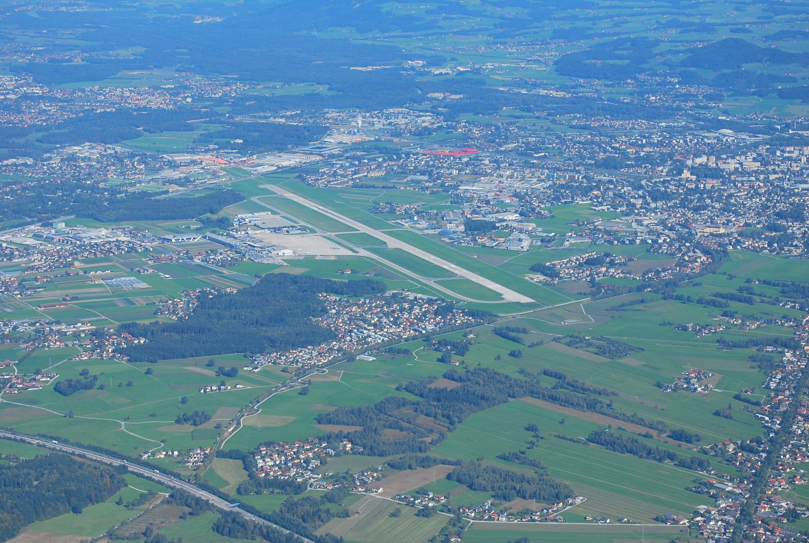 Blick vom Unterseeberg auf Salzburg