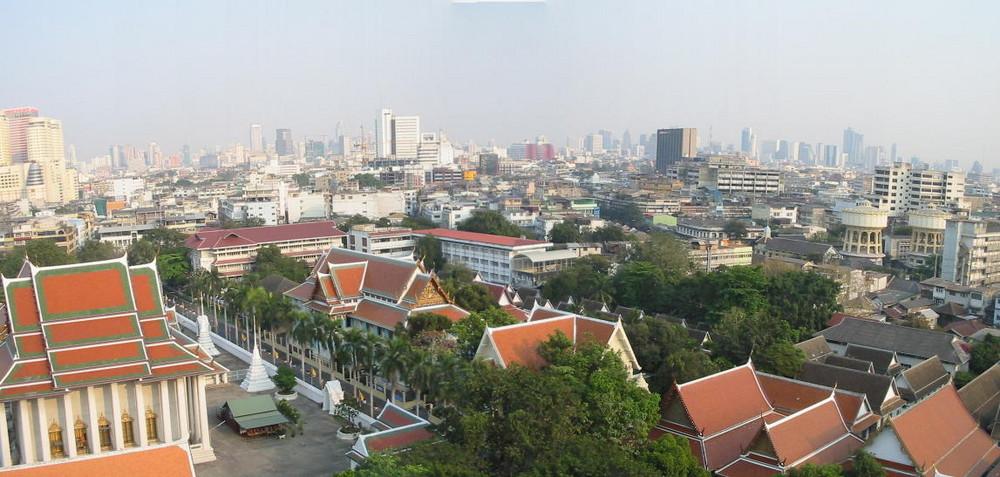 Blick vom Wat Saket