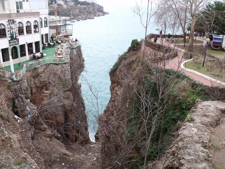 Blick von Antalia auf das Mittelmeer