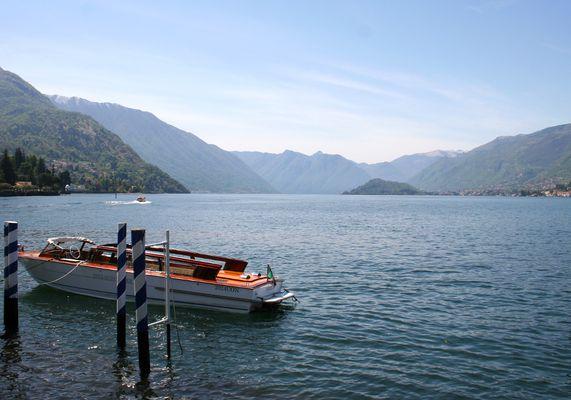 Blick von Bellagio über den Lago di Como