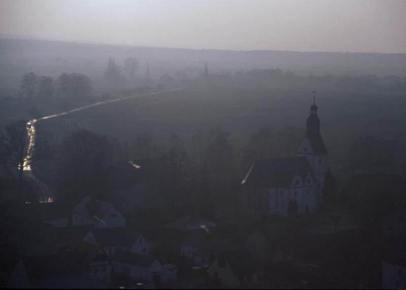 Blick von Burg Gnandstein