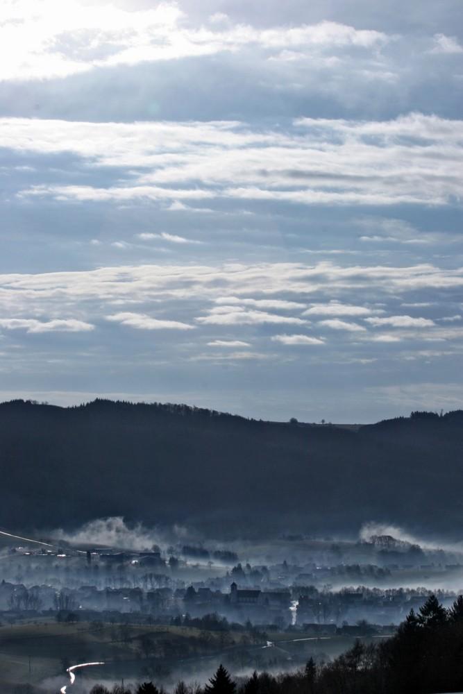 Blick von Burg Lindenfels