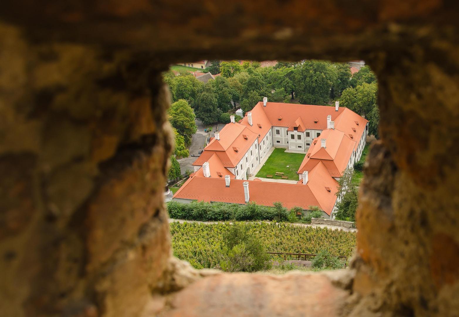 Blick von Burg Sümeg