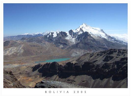 Blick von Chacaltaya