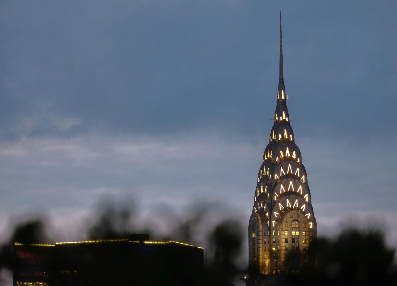 Blick von der 230 Fifth Rooftop Bar