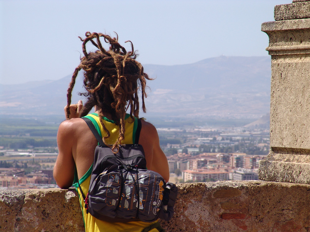 Blick von der Alhambra