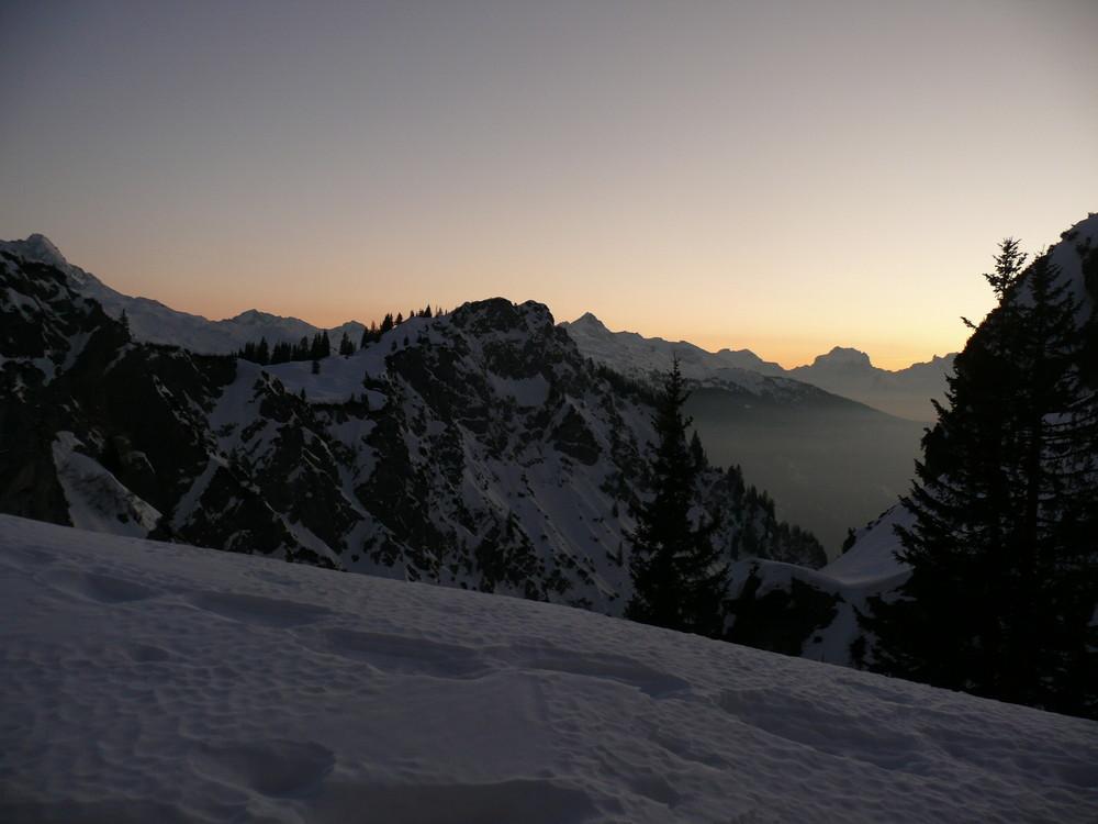 Blick von der Alpe Grabs
