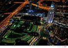 Blick von der Aussichtsplatform 440m Burj Khalifa 01