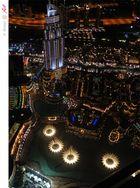 Blick von der Aussichtsplatform 440m Burj Khalifa 03
