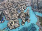 Blick von der Aussichtsplattform des Burj Khalifa auf die Skyline von Dubai (4)