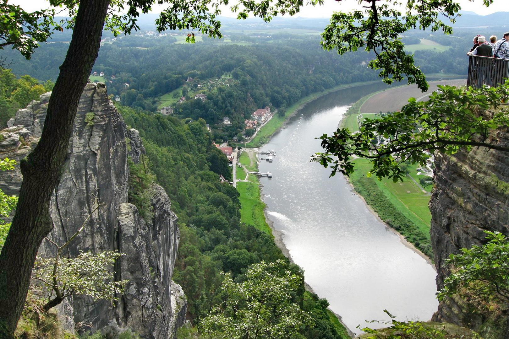 Blick von der Bastei