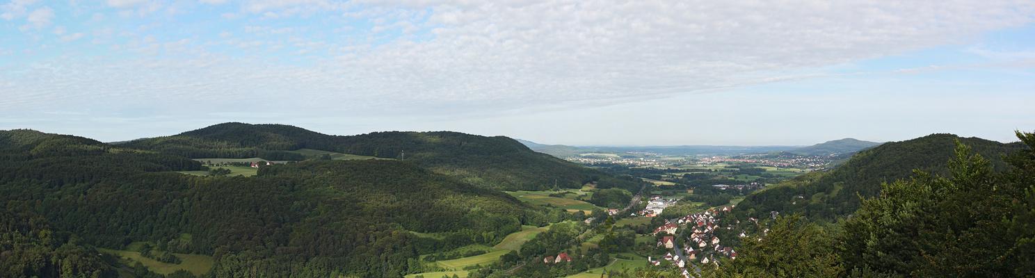 Blick von der Bastei am Zankelstein/ Pommelsbrunn