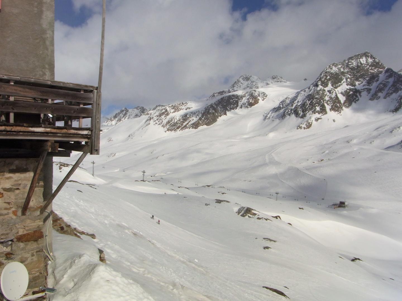 Blick von der Bella-Vista-Hütte