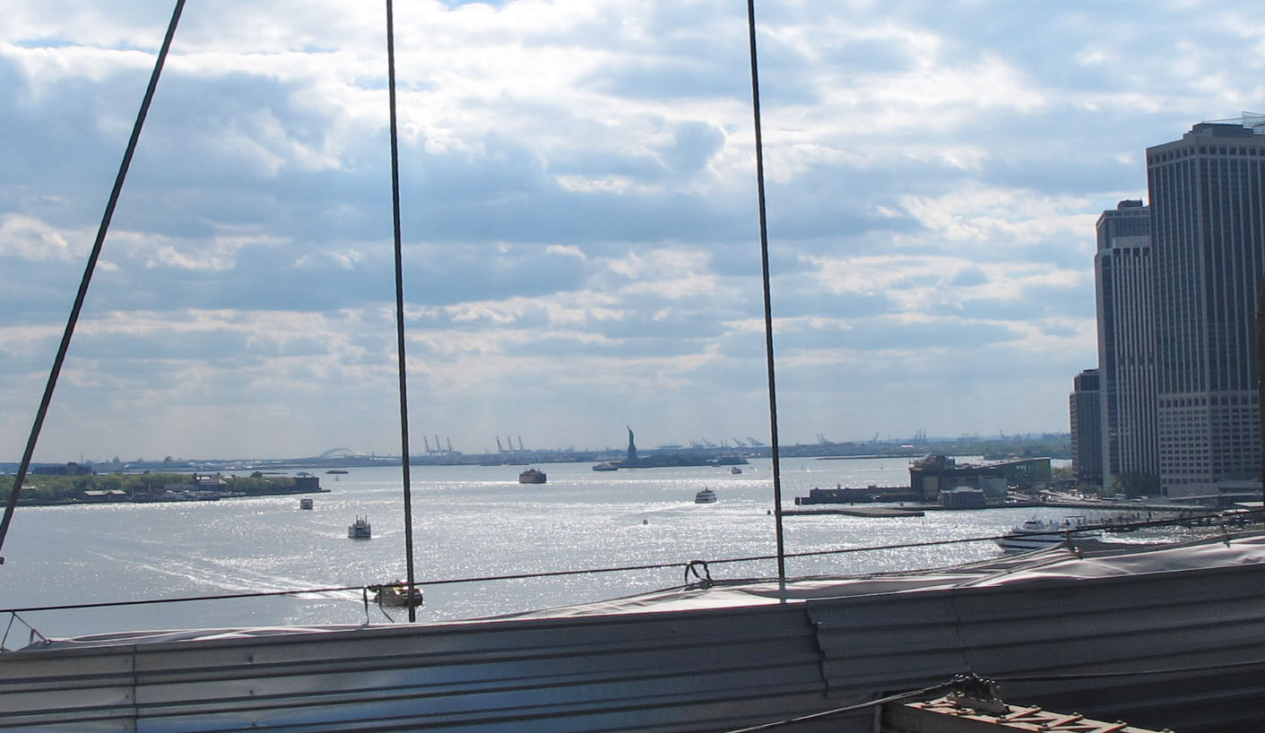 Blick von der Brooklynbridge