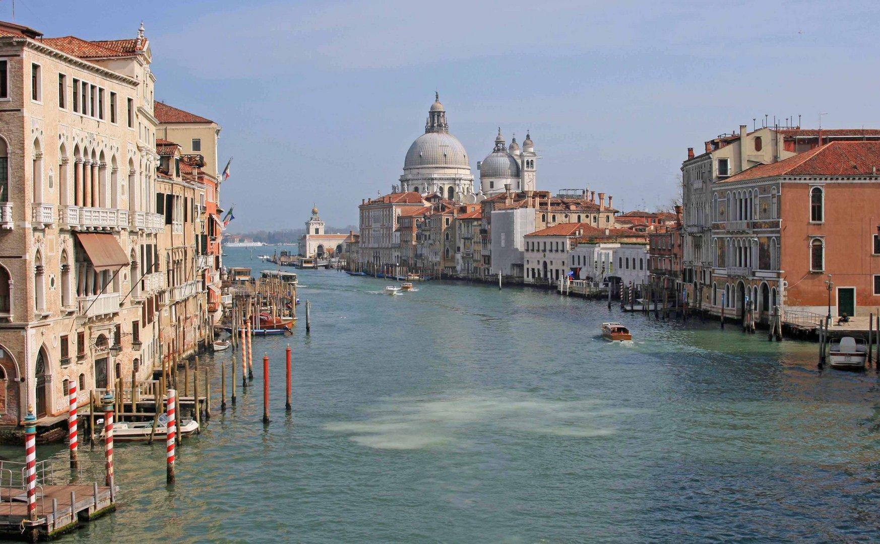 Blick von der Brücke Venedig