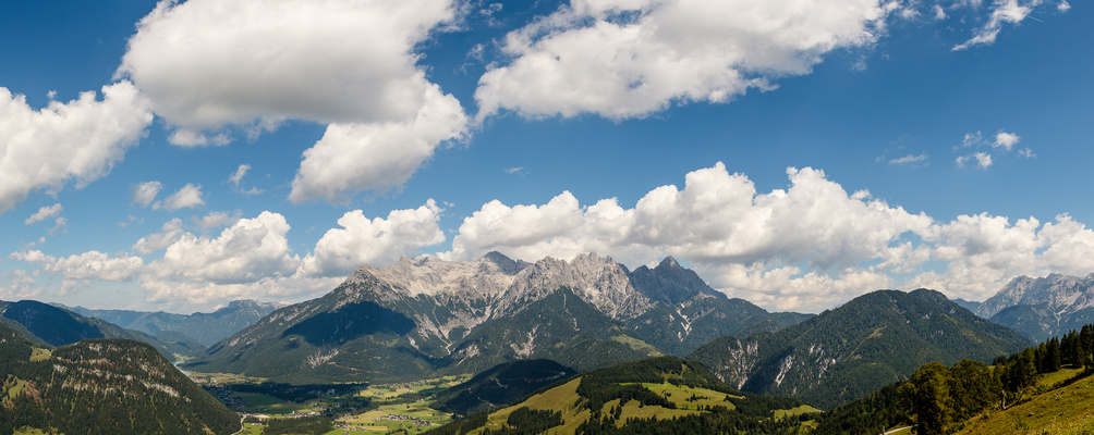 Blick von der Buchensteinwand