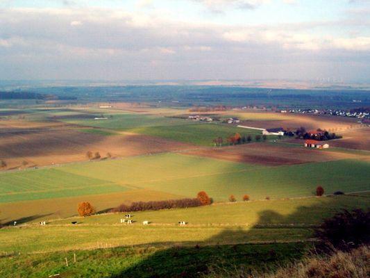 Blick von der Desenburg