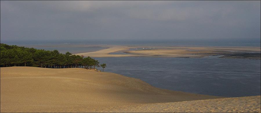 Blick von der Dune du Pilat 1